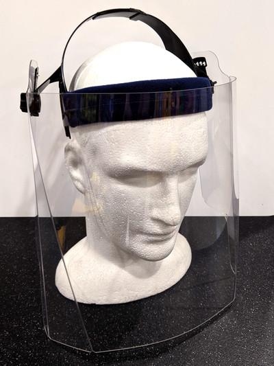 Faceshield with Adjustable Head Mount