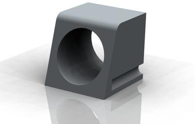 Kerb Adaptor: Recycled Rubber, B2 - Grey