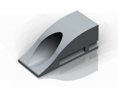 Kerb Adaptor: Recycled Rubber, SM2 - Grey