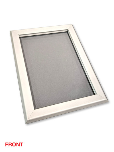 Heavy Duty Clip Frame Poster Holder - A4 Silver
