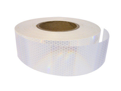 50mm Class 1 Reflective Tape WHITE 50 metre ROLL