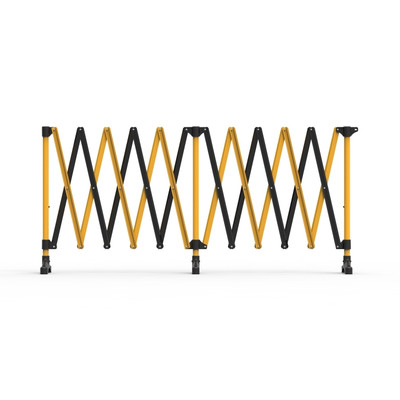 Port-a-guard expanding barrier 6.0m (2-in-1) kit 9.8kgs - black/yellow