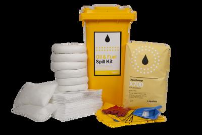 Spill Kit 120 LTR BIN Oil & Fuel STD