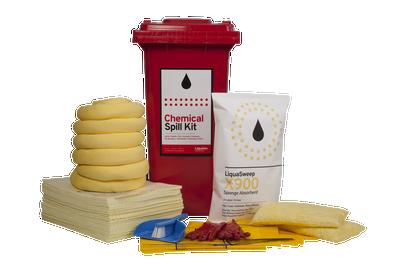 Spill Kit 120 LTR BIN Chemical STD