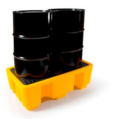 Polyethylene 2 drum bund (spill pallet)