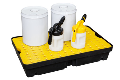 Spill Tray with grate - 40 Ltr
