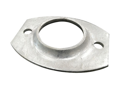 Base Plate Surface Mount -Collar- to suit 50nb post (2 HOLE)