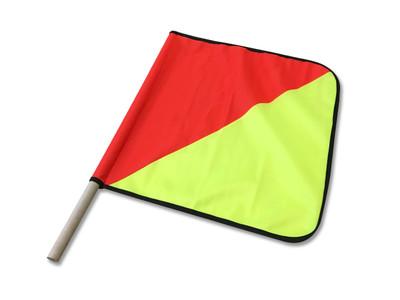 Oversize Flag HALF/HALF 450x450 c/w DOWEL - MESH FLAG