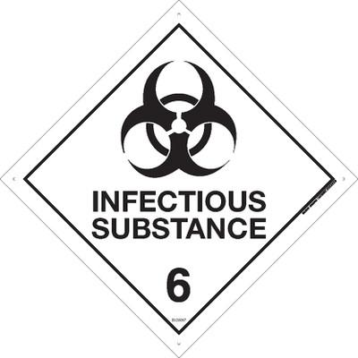 Class Label INFECTIOUS SUBSTANCE 6 270x270 MTL