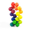 Playable ART ball, creative play and artistic display piece. Soothing and stress relieving
