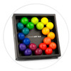 Playable ART ball, interconnecting colourful balls create sculptures and relieve stress