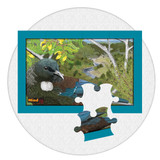 Mindjig  12 piece Jigsaw puzzle with New Zealand Tui bird. A great activity for people living with dementia or memory loss
