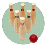 Skittles game, great fun indoors or out