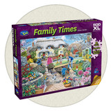 Family Times - Winter Garden 500 large piece puzzle