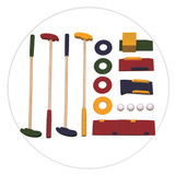 Quality wooden Mini Golf set