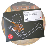 Reusable water painting set, The Tool Shed