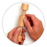 The Fidget Widget Twist helps to keep hands busy and relaxed