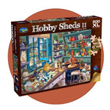 500 piece jigsaw puzzle with extra large pieces - A Pottery Shed