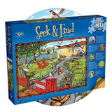 300 piece Seek and Find puzzle featuring A New Zealand garden scene