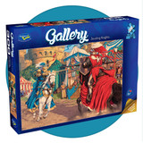 300 XL piece puzzle of Jousting Knights