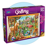Gallery-Animals in the Garden jigsaw Puzzle