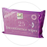 Incontinence Wipes are pre-moistened to gently cleanse, moisturise, deodorise and protects the skin