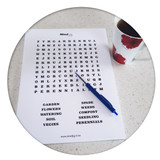 Mindjig Large A4 Word Search Puzzle