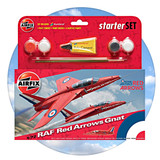 Airfix Starter Set: RAF Red Arrows Gnat