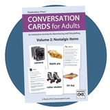 Large Conversation Cards for adults, pack of 52 cards
