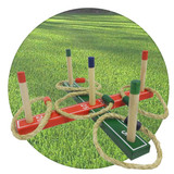 Fun ring toss game, keep mind and body busy