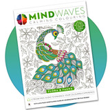 Mindwaves Calming Colouring book for adults: Flora & Fauna