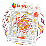 A relaxing colouring book for adults with patterns