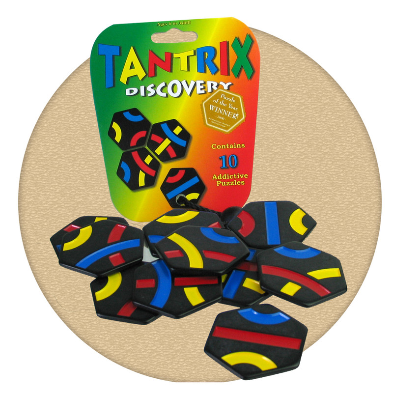 Tantrix discovery and addictive and fun puzzle