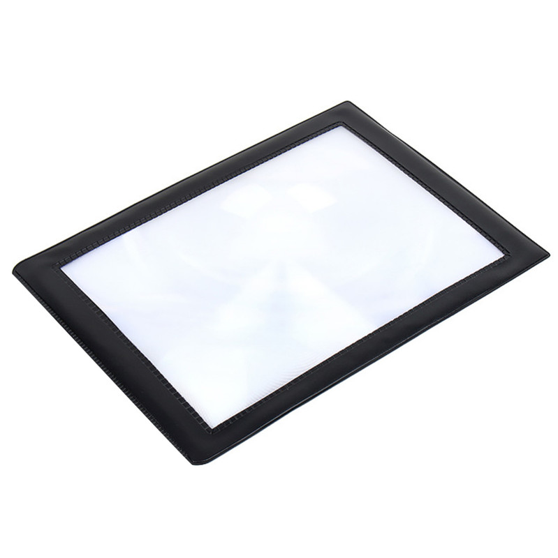 Magnifying sheet for reading and viewing details