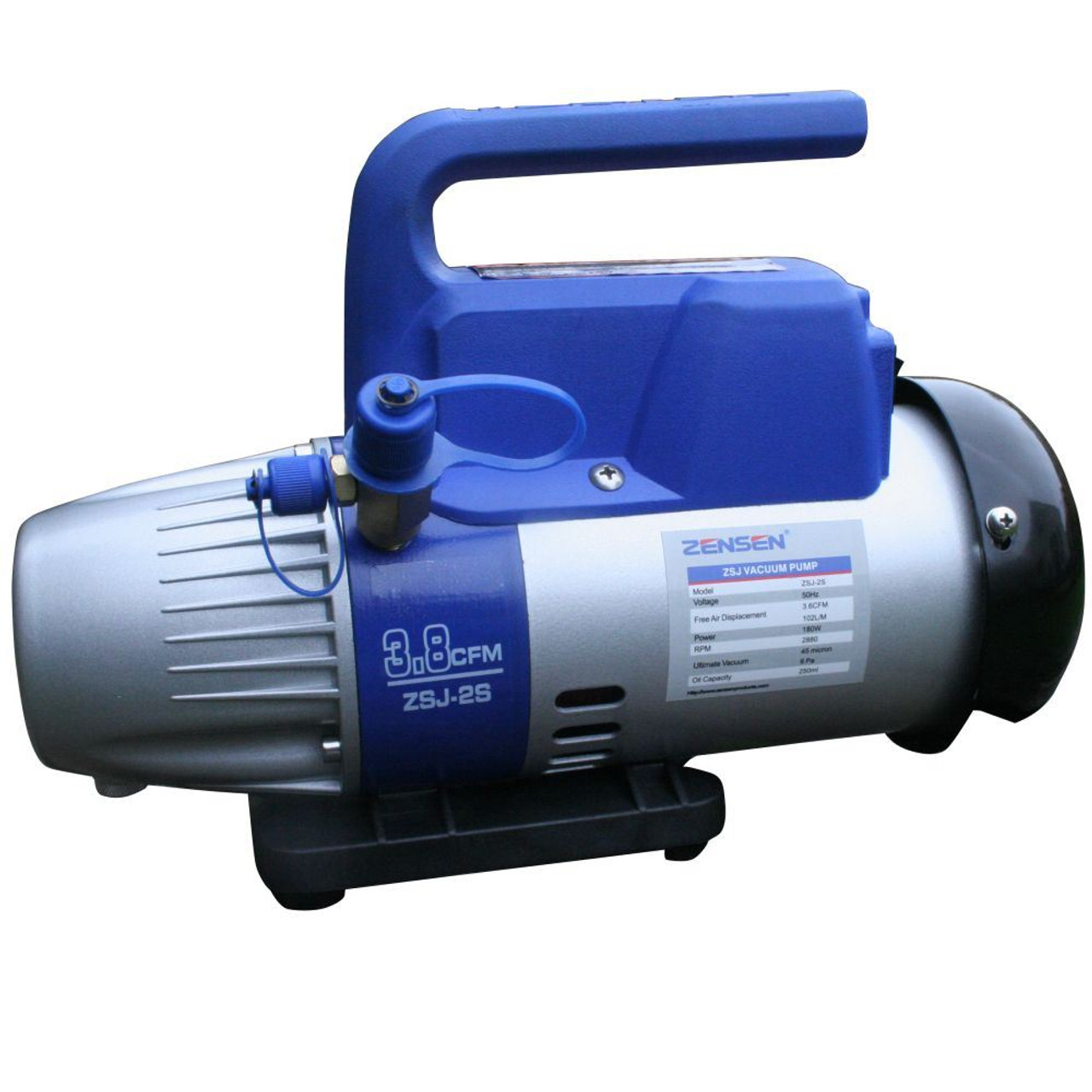 3.8cfm Single Stage Vacuum Pump, 6pa, 45 Microns