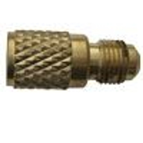 "Refrigerant Hose Adaptor - R410a to Standard 1/4"" Fitting"