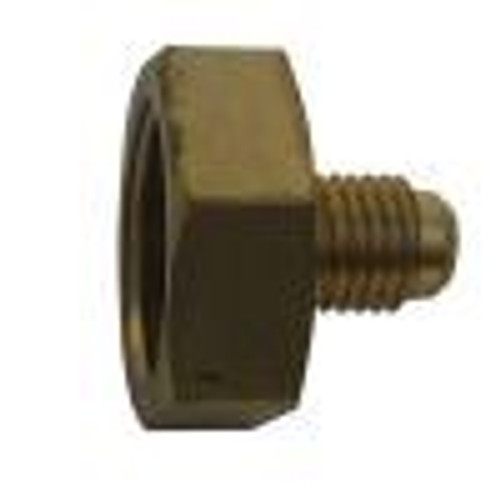Cylinder adaptor 3/4 NPS x 3/8 Male Flare