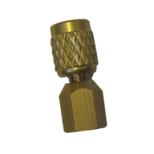 Coupler 1/8NPT Female x 1/4 Female flare adaptor