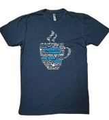 Word Art Coffee Tee