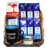 Gourmet Coffee, Mug and Candle Gift