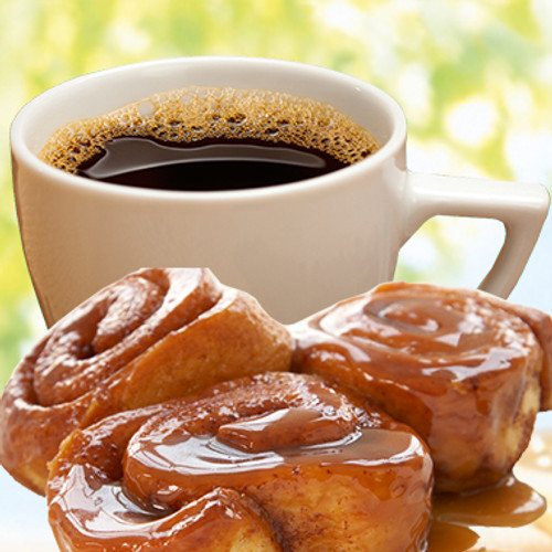 Essence of Fresh Cinnamon Rolls Decaf Flavored Coffee