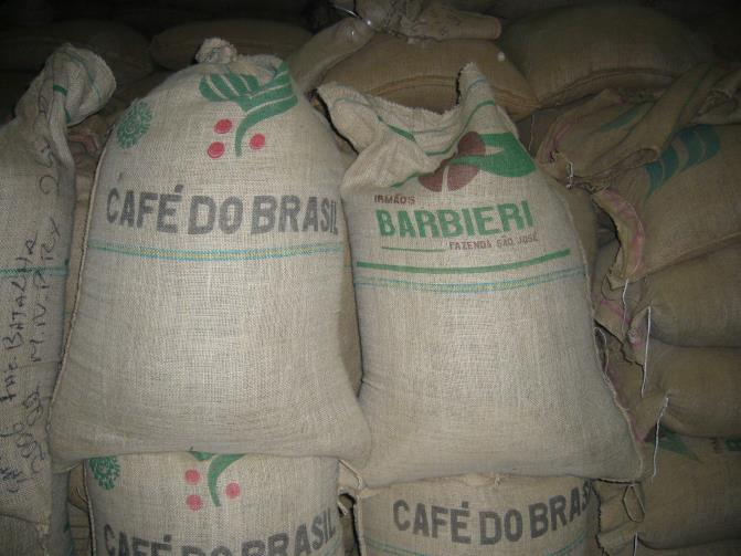 Each burlap bag contains about 132lbs of premium, raw coffee beans!