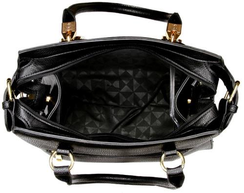 8b958af3ea74 ... Alyssa Elegant Designer Inspired Faux Leather Tote Shoulder Bag ...