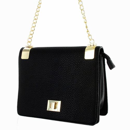 9540f106b30d Alyssa Women s Classic Faux Leather Designer Crossbody Shoulder Handbag  Purse