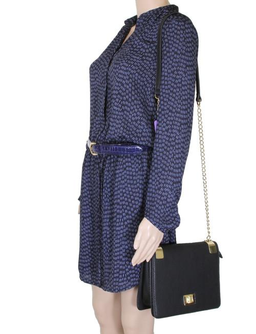 bfb5949be ... Alyssa Women's Classic Faux Leather Designer Crossbody Shoulder Handbag  Purse