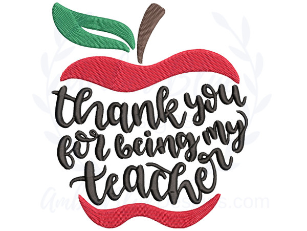 Thank You for Being My Teacher