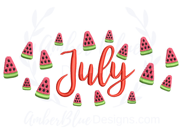 July, Watermelons