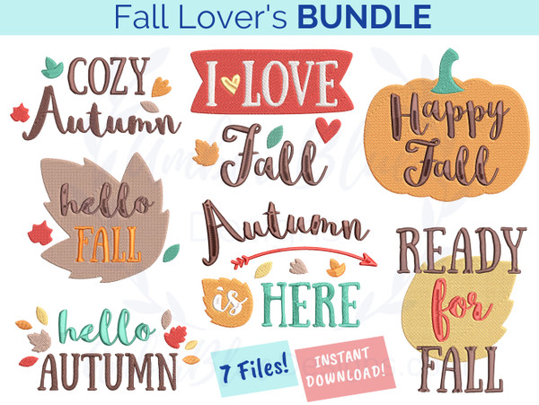 Fall Lover's Bundle