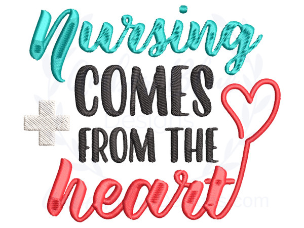 Nursing Comes From The Heart
