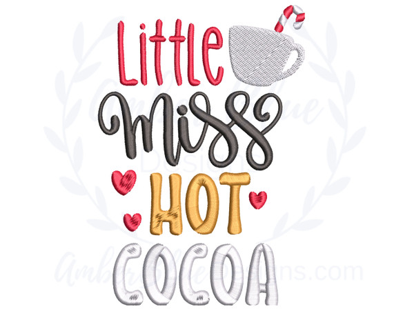 Little Miss Hot Cocoa